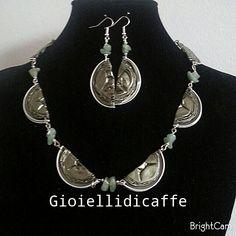 Collana e orecchini Nespresso Indriya