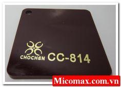 Mica màu cafe thuộc dòng mica màu xuyên sáng, được ứng dụng rộng rãi trong ngành quảng cáo, nội ngoại thất