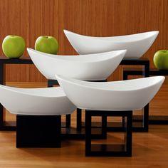 Over amp Back Bellissima 6 Piece Porcelain Serving Set