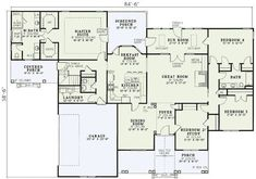 Spacious Country Design - 5967ND | Country, Traditional, Photo Gallery, 1st Floor Master Suite, Bonus Room, CAD Available, Den-Office-Library-Study, PDF, Split Bedrooms, Corner Lot | Architectural Designs