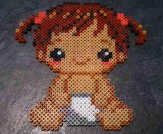 Baby 5 hama beads by Hamamia on deviantART
