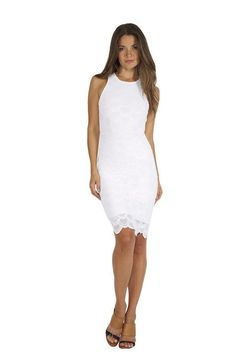 Nightcap Victorian Lace Sport Dress in White