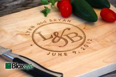 Personalized/Engraved Cutting Board with by PegasusParchments, $35.00