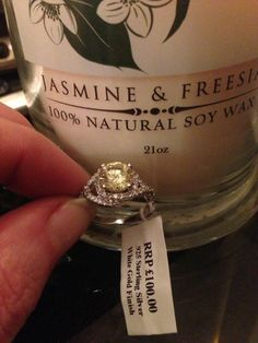 Imperial candle and ring Imperial Candles, Love Is Sweet, Sweet Sweet, Handmade Candles, Beautiful Rings, 925 Silver, Wax, White Gold, Engagement Rings