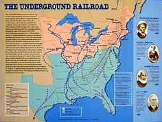 The Underground Railroad was a network of secret routes and safe houses used by 19th-century black slaves in the United States to escape to free states and Canada with the aid of abolitionists and allies who were sympathetic to their cause. The term is also applied to the abolitionists, both black and white, free and enslaved, who aided the fugitives.