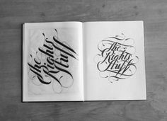 """Toronto-based graphic designer, illustrator and typographer Ben Johnston has """"a preference for creating typographic illustrations from scratch""""."""