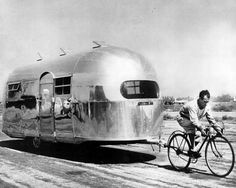 Bicycles and Airstreams. What more do you need? http://www.letko.info/archives/25.html