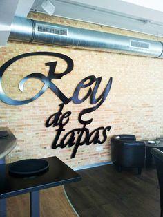 Rey de Tapas. Nuestro último trabajo #bar #terraza en San Fernando de Henares.