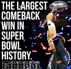 To all the haters including my husband! If you know football, can't deny his greatness! #tombrady #patriots