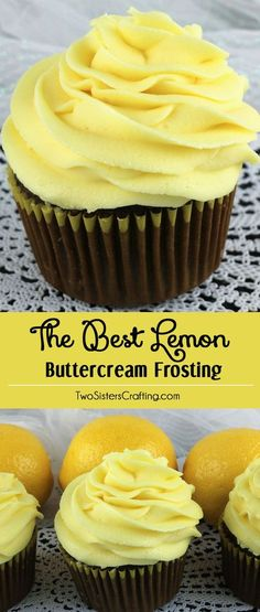 When life gives you lemons, make this delicious Best Lemon Buttercream Frosting…