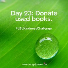 Family Kindness Challenge Day Donate used books. Kindness Challenge, Beloved Book, Giving Back, Used Books, Fun Projects, Over The Years, Acting, The Outsiders, Lunch Box