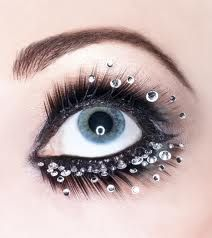 Swarovski Crystal Eye Makeup This season | Beauty Ramp - Beauty & Fashion Guide by Dr Prem | Skin, Body, Style Makeup and Hairstyles