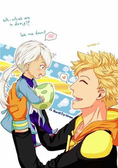 Spark and  Blanche