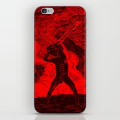 Freedom Warrior iPhone & iPod Skin