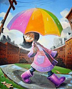 Rainy Day- Frank Morrison