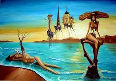 Salvador Dali Born in Spain 1904-1989. Famous Paintings, sculptures, writer, screenwriter. ~Chantal ~