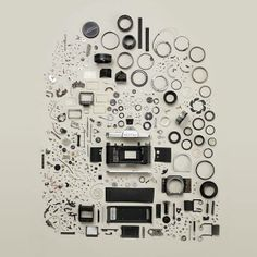 A camera has many components, this picture just sums this up. Picture Courtesy: Todd Mclellan Motion/Stills Inc.