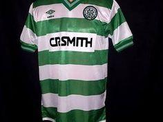 Selling: Celtic Football Shirt Cr Smith Umbro 1984/85