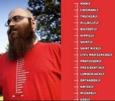 cool beard length shirt