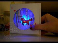LIGHTS UP!!! This is a shaker card with a little extra punch! I have incorporated an LED light into the design, using some products by Chibitronics. In the video you can ...