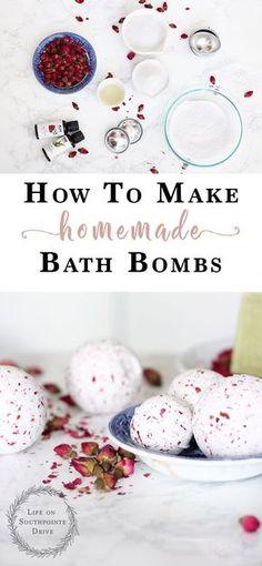 How-to-Make-Homemade-Bath-Bombs, DIY bath bombs, homemade bath bombs, easy DIY bath bombs, how to make easy DIY bath bombs, bath bombs recipe, rose oil bath bombs, rose bath bombs, valentine bath bombs, make your own bath bombs #bathbombs