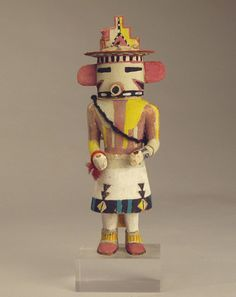 Antique Hopi Kachina Dolls: Hopi Kachina doll, c.1940 - via http://bit.ly/epinner