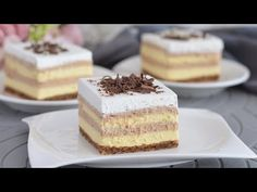 Každý hledá tento recept! Je to nepopsatelně chutné, krémové, nepřestanete jíst. - YouTube Sweet Desserts, No Bake Desserts, Wine Recipes, Cooking Recipes, My Favorite Food, Favorite Recipes, Kolaci I Torte, Serbian Recipes, Fall Baking