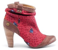 Terra Plana Lauren Boot, terra plana, recycled fabric, sustainable shoes, green shoes, eco shoes, lauren boo