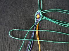 Forgotten Store: Pattern Macrame Flower Beaded Necklace Patterns, Macrame Patterns, Macrame Design, Diy Crafts For Gifts, Macrame Jewelry, Etsy, Anna, Bracelet, Flower
