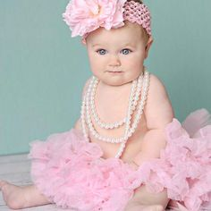 Love this! Just did this look and need to repeat when she can sit up!