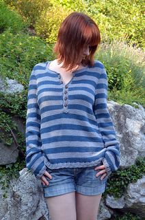 Driftwood Pullover Sweater - free Ravelry download pattern