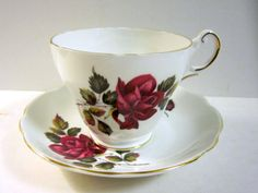 Regency English Bone china cup & saucer by GKUnited on Etsy, $18.50