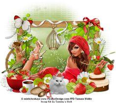 TAMMYS WELT: PTU Scrap Kit Strawberry Love