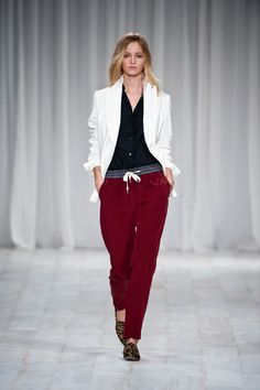 The Allure of Athleticism - Paul Smith spring summer 2012.