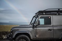 We know what we'd want to find at the end of the rainbow!  Image: @gfwilliams  #Lifestyle #LandRover #TwistedDefender #Defender #LandRoverDefender #Style #Hibernot #AntiOrdinary #Handmade #Handcrafted #DefenderRedefined