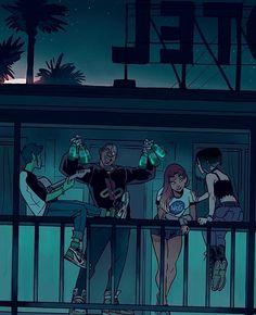 Blackfire punishment superhero manga luscious-5228