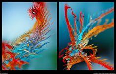 3D bij abstracte kunst