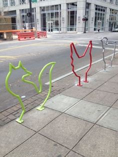 The Snap: Martin Street Animal Bike Racks