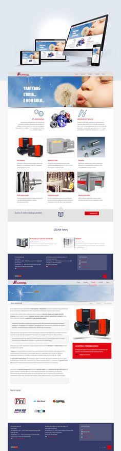 Responsive web site created with Worpress aut-service.it #web #webdesign #design #project #UI #UX #portfolio #inspiration #wordpress