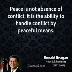 Image result for ronald reagan peace quotes