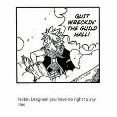 Look who's talking Natsu Dragneel Manga Fairy Tail