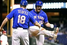Daniel Murphy of the NY Mets always shows so much emotion during the games. Love it!