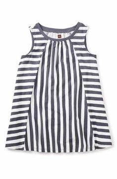 64654c9919354 Baby Girls Toddler Sleeveless Tie-Strap Tank Top - Blue - The Children s  Place