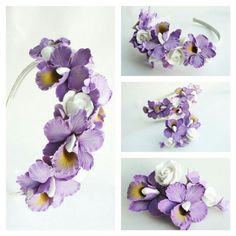 Headband. Handmade flowers. Flowers. Handmade accessories. Wedding flowers. Wedding accessories. Wedding. Flowers.
