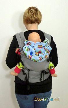 Die Buzzidil Babytrage als Rückentrage. Einfach und sicher mit Schnallen. Bequem durch breiten Hüftgurt und gepolsterte Schulterträger. Backpacks, Bags, Fashion, Simple, Handbags, Moda, Fashion Styles, Taschen, Women's Backpack