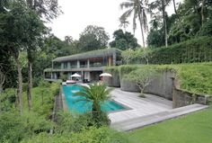 Photo 1 of 18 in An Incredible Vacation Villa in the Balinese Jungle That's Part Chameleon - Dwell