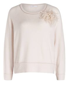 NICE CONNECTION - Pullover mit abnehmbarer Brosche