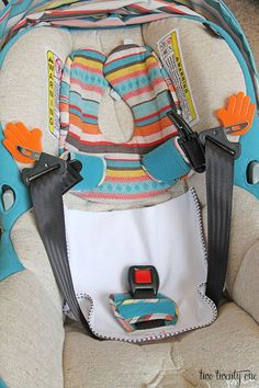 use a baby mat to protect car seat from anything!!..Its very thin so won't interfere with the use of the seat.