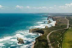 The Great Ocean Road is one of the world's most scenic coastal road trips... it's called great for a reason
