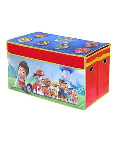 Love this Paw Patrol Collapsible Storage Trunk on #zulily! #zulilyfinds